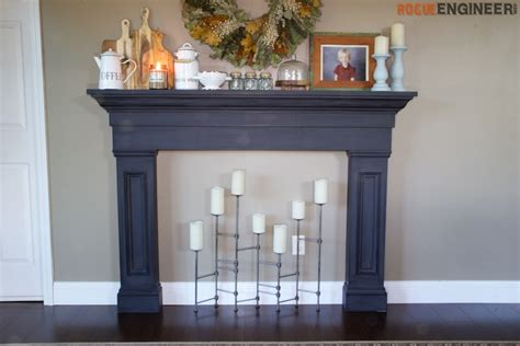 Faux Fireplace Mantel Kits by Faux Fireplace Mantel Surround 187 Rogue Engineer