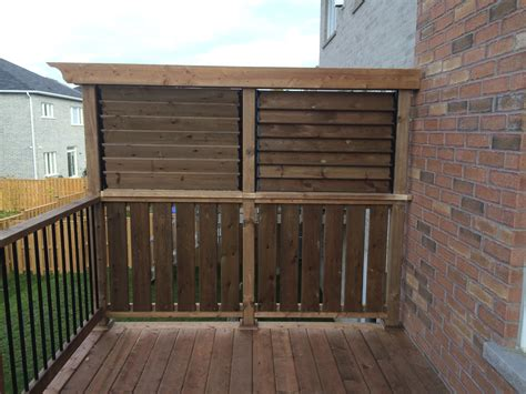wood deck with privacy walls pictures to pin on pinterest