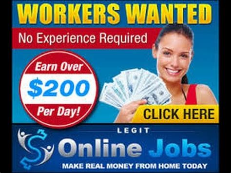 Real Online Money Making Jobs - legit online jobs real work at home jobs make real money online youtube