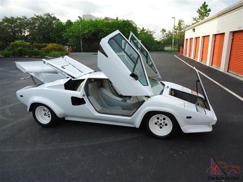 Lamborghini 5000s For Sale Lamborghini Countach 5000s All Chassis V 8 Replica