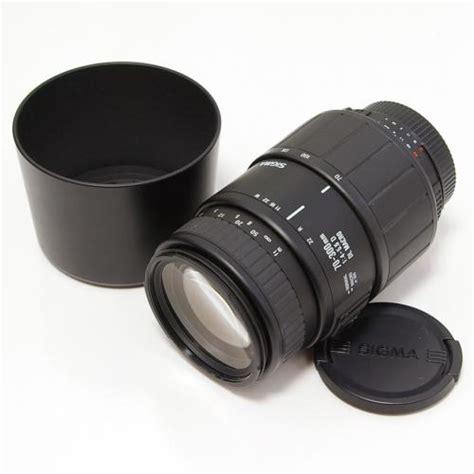 Baru Sigma 70 300mm 中古 シグマ af 70 300mm f4 5 6 dl macro ニコンaf用 sigma カメラのことなら八百富写真機店