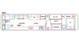 rv conversion floor plans school bus dimensions interior google search rv