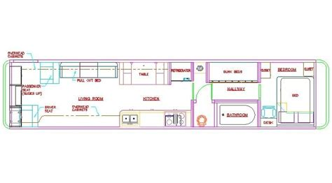 school bus rv floor plans school bus dimensions interior google search rv