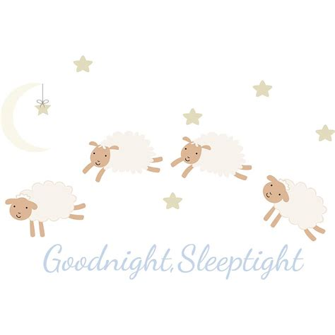 sheep wall stickers counting sheep fabric wall stickers by littleprints notonthehighstreet