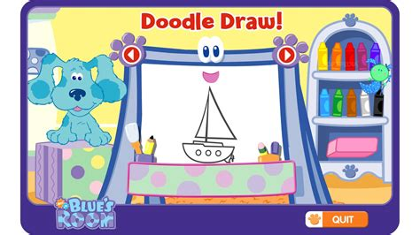 doodle guessing blue s room pack