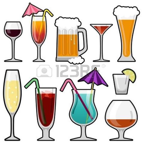 mixed drink clipart alcoholic drinks clipart