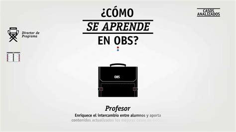 Obs Mba by Cursos Obs Business School Cursosypostgrados