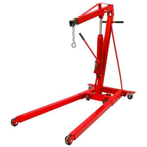 Engine Crane 2 Ton Limited folding engine crane 2 ton capacity k tool international 63422