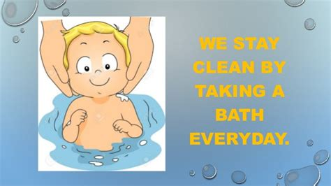 How To Put A Bathtub In Taking A Bath Social Story