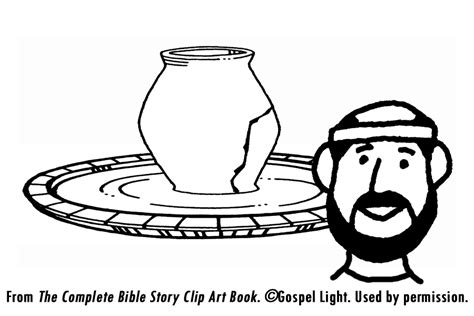Finest Jeremiah Learns Lessons From A Potter Mission Bible Gospel Light Coloring Pages