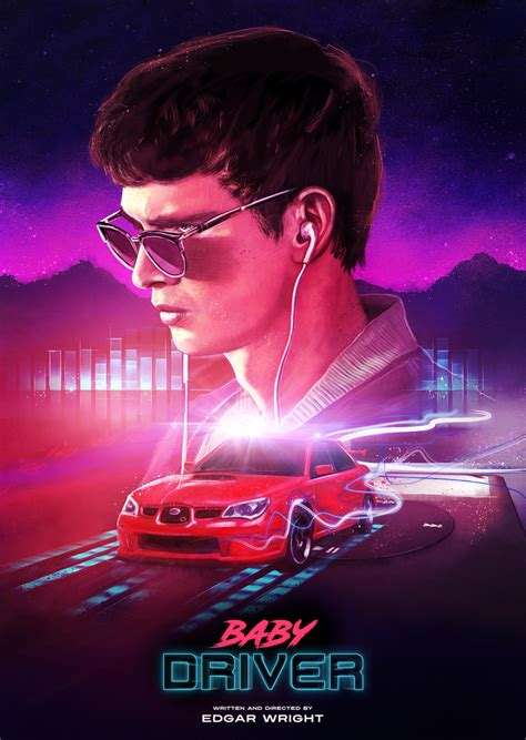 Baby Driver baby driver posterspy