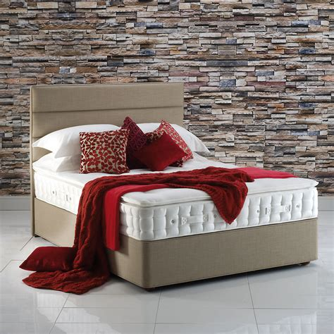 Hypnos Headboards by Hypnos Josephine Panelled Upholstered Headboard