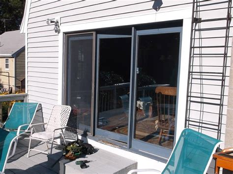 Replace Glass In Patio Door Sliding Glass Patio Door Replacement Scituate Ma Winstal