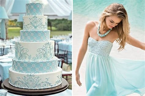 light blue wedding theme baby blue weddings
