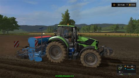 Www Ls by Deutz Fahr 6 More Realistic V1 0 Ls17 Farming Simulator 2017 17 Ls Mod