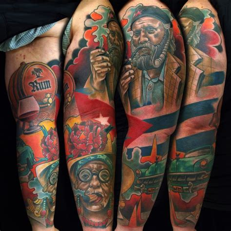 cuban tattoo designs 17 best images about on watercolors