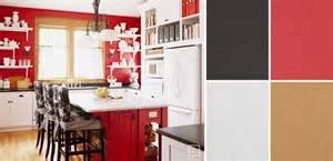 awesome Kitchen Color Scheme Ideas #1: 07-Red-Kitchen-Design.jpg