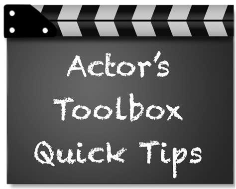 actor s toolbox script education closet