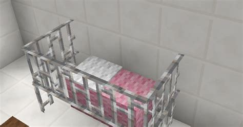 Minecraft Baby Crib by Minecraft Baby Room Bed Crib Furniture Minecraft