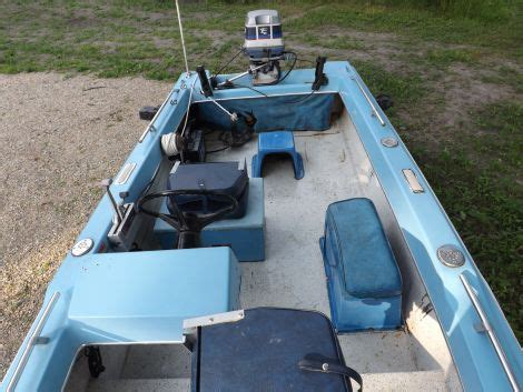 fishing boats for sale detroit lakes mn 1977 14 foot forrester triple hull fishing boat for sale