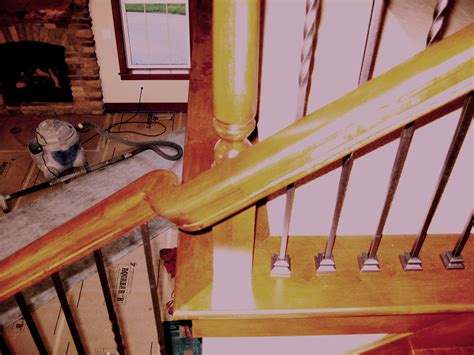 how to restain stair banister how to restain stair rail ask home design