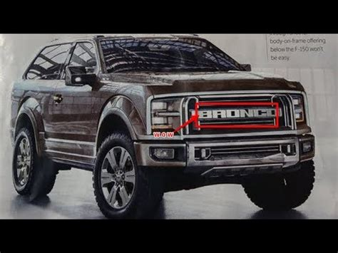 Pictures Of The 2020 Ford Bronco by New Ford Bronco 2020 Svt Raptor Version Doovi