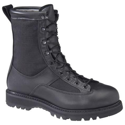 mens black tactical boots s matterhorn 174 8 quot waterproof insulated combat boots