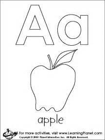Galerry big alphabet coloring pages