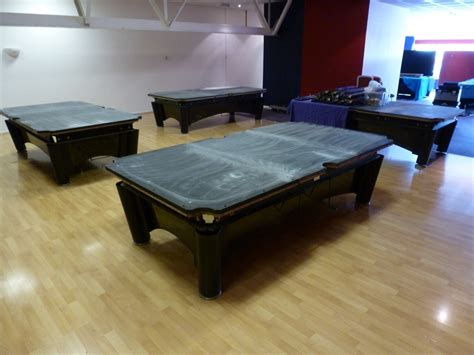How To Set Up A Pool Table - sam k steel american pool tables 4 more tables set up in derbyshire now a total of 6 gcl