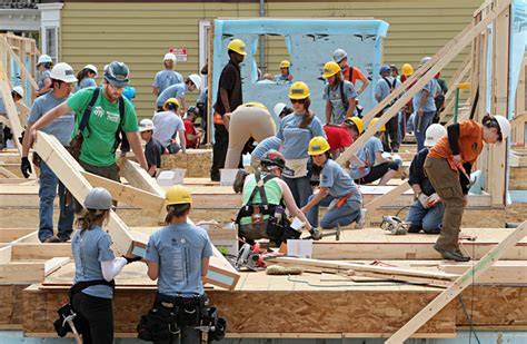 alabama working with habitat for humanity to make a difference hundreds of volunteers work on 10 habitat houses
