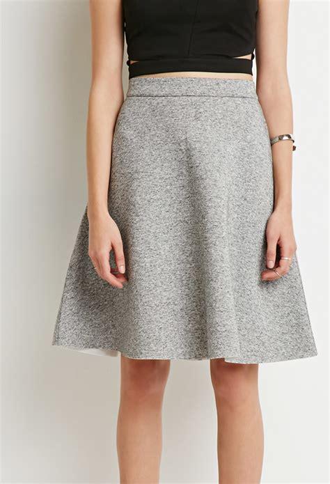 gray a line skirt redskirtz