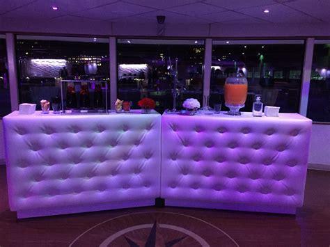lounge decor portable led bars aviance event planning and lounge decor nj