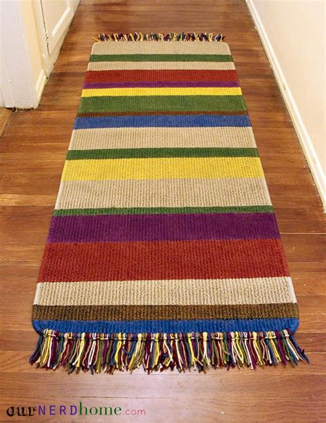 Diy Runner Rug Diy Tom Baker Doctor Who Rug Our Home