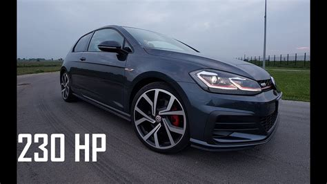 volkswagen golf gti  pure sound test drive