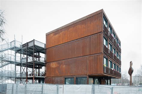 Container Haus Berlin by A Container For Students In Berlin Uncube