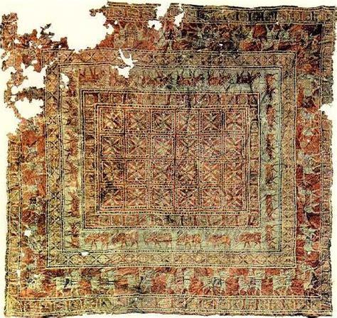 tappeti altai pazyryk il tappeto pi 249 antico della storia