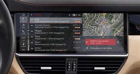Porsche Navigation by Porsche Connect Plus Vernetzt Suv S Der Neuen Generation