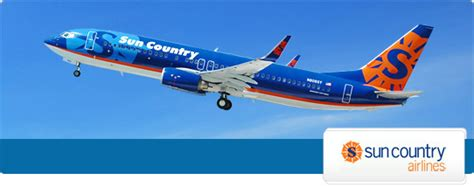 save on sun country flights