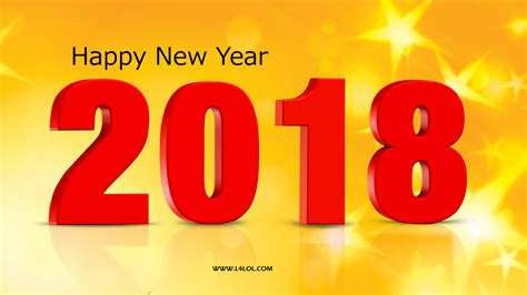 Or Free 2018 Happy New Year 2018