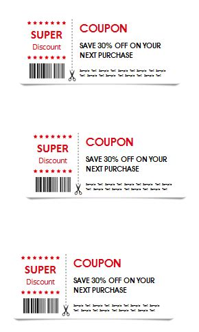Gift Coupon Template Templates For Microsoft 174 Word Microsoft Coupon Template