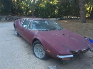 Used Cars For Sale Delaware 1971 De Tomaso Pantera Craigslist Cars For Sale