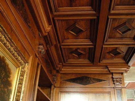 soffitti in legno a cassettoni soffitti in legno az54 187 regardsdefemmes