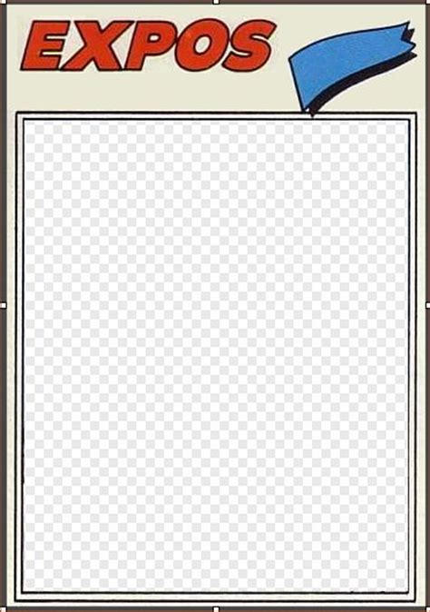 How To Create A Baseball Card Template In Photoshop by 12 Topps Baseball Card Template Photoshop Psd Images