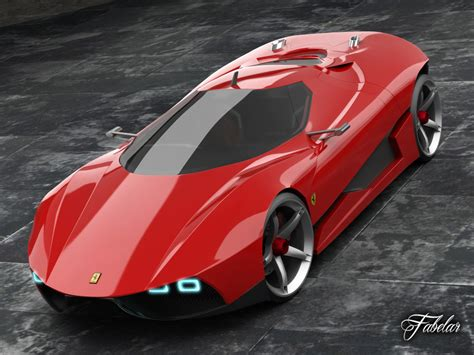 future ferrari models ferrari ego concept 3d model animated rigged max obj