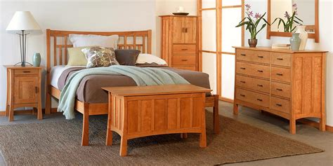 Catalina Bedroom Set contemporary craftsman furniture collection vermont