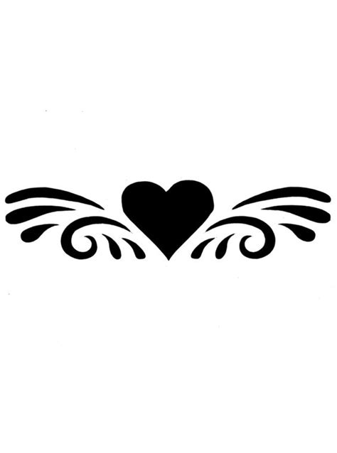 easy pattern stencil designs easy heart stencil designs clipart best