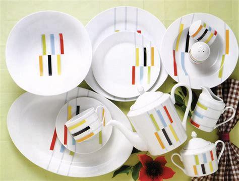 Ceramic Tableware 20pcs porcelain dinnerware flower pattern ceramic