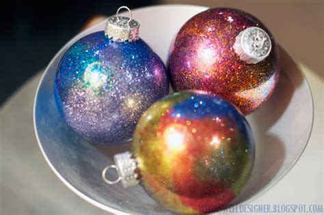 diy ornaments glitter diy glitter ornaments