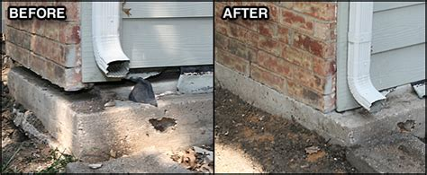 foundation settlement repair robbins and co foundation
