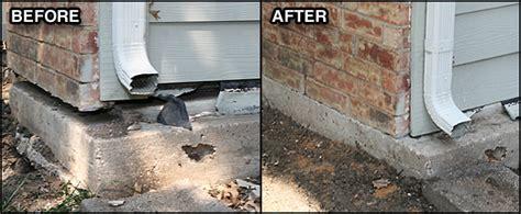 cracked basement floor repair roots foundation settlement repair robbins and co foundation